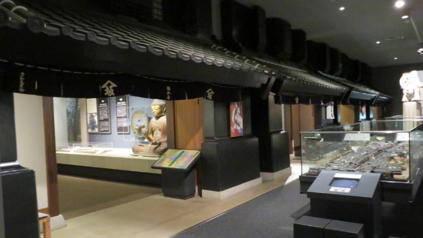Inside Kawagoe city museum