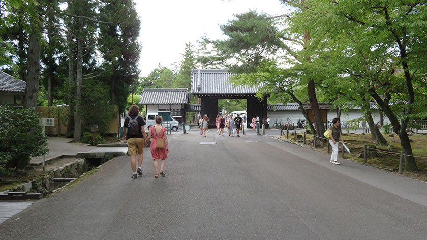 Paths at Nanzenji Temple