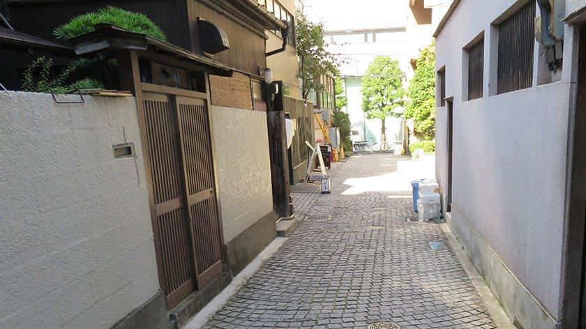 Bumpy Kagurazaka Street