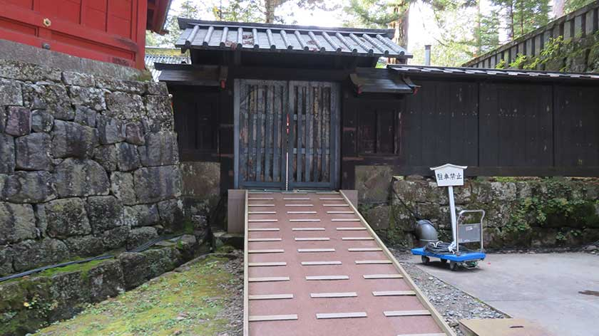 Ramp into Nikko Toshogu Shrine