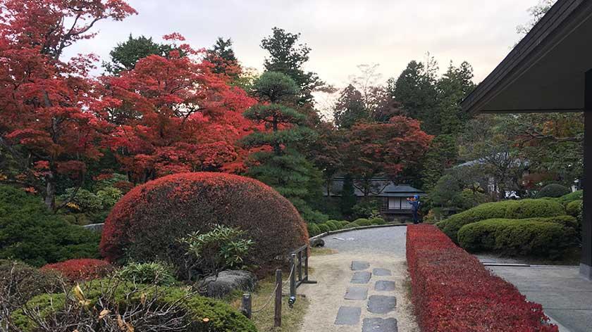 Garden at Rinnoji Temple