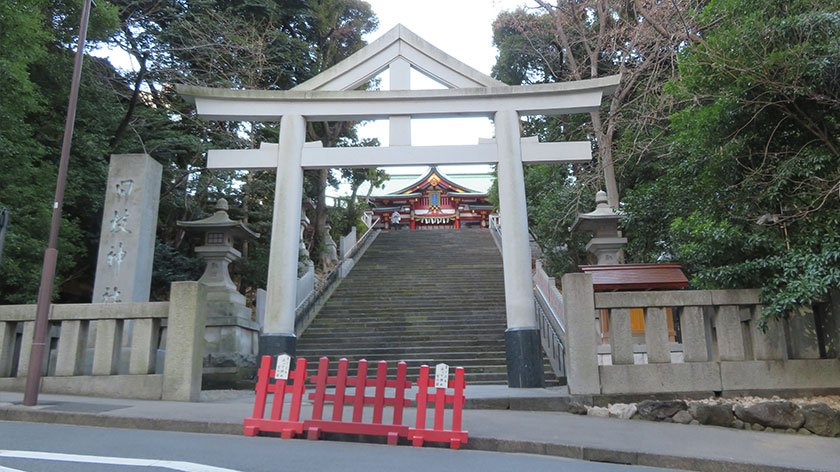 Hie Shrine front entrance