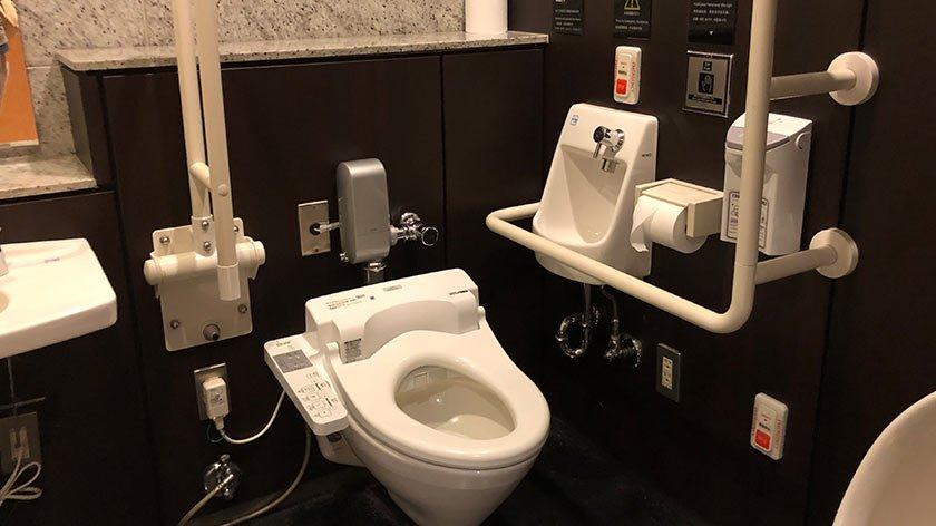 Toilet in Roppongi