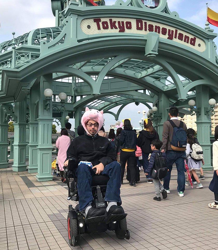 Mark Bookman at Tokyo Disneyland