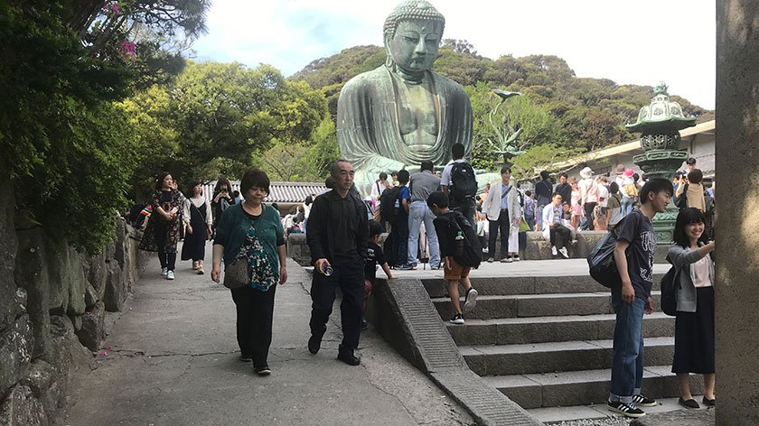 Accessible Path to Great Buddha of Kamakura