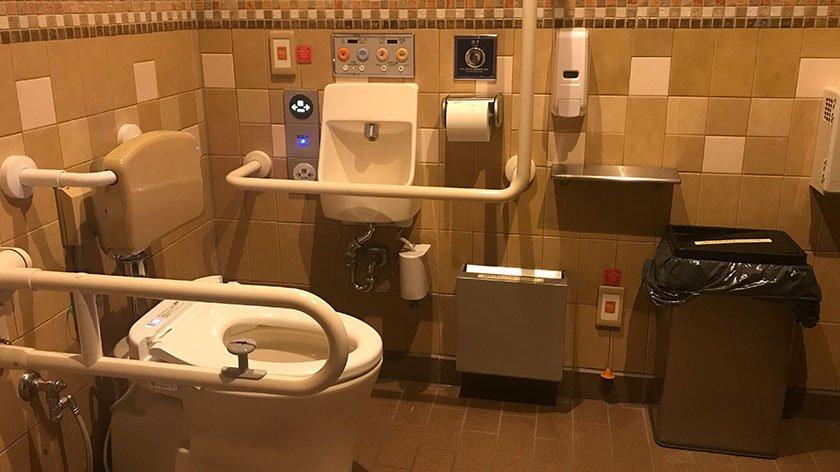 Tokyo Disneyland Accessible Toilet