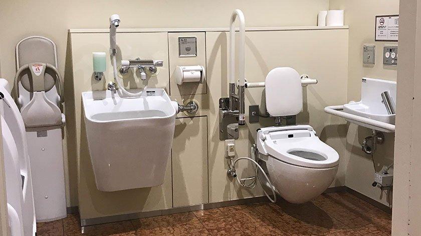 Kabukiza Accessible Toilet