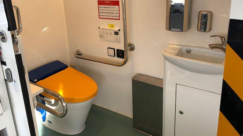 Gunkanjima Boat Toilet