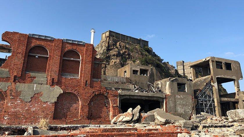 Gunkanjima Abandoned Buildings