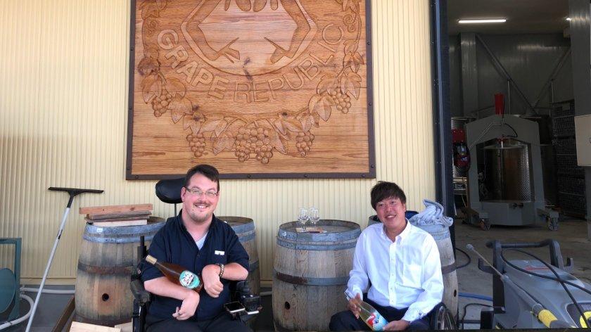 Grape Republic Winery in Yamagata