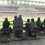 Wheelchair seating at Yokohama Stadium