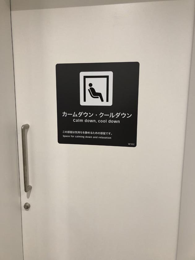 Sensory room door