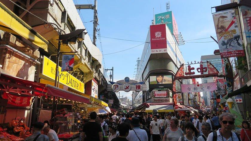Main Street of Ameyoko