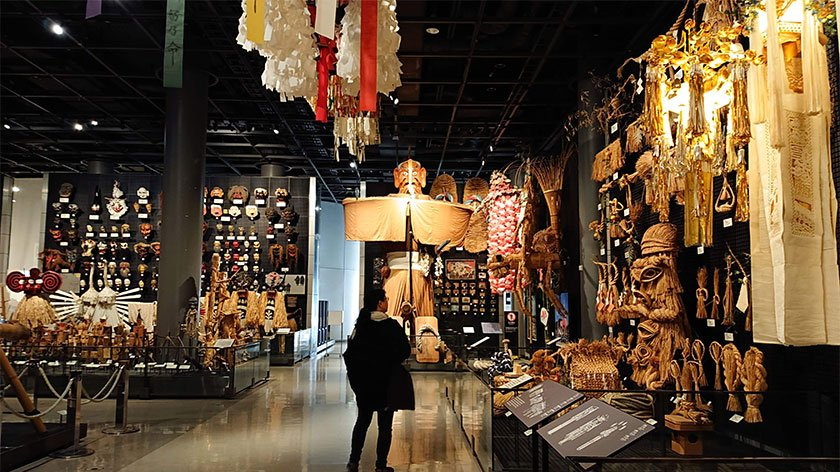 National Museum of Ethnology in Osaka, Japan