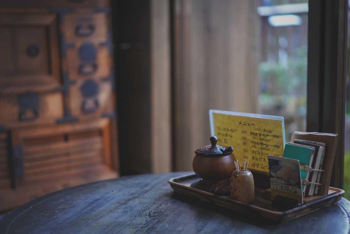 Tradional tea at Sabo Kokuya
