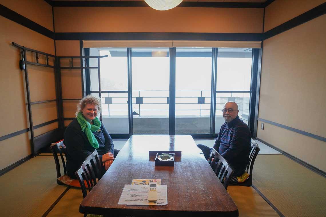 Tatami Room at Kuroshio Honjin